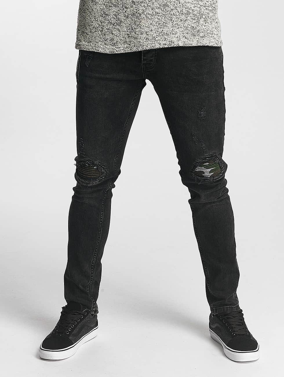 2Y Slim Fit Jeans Thomas grå