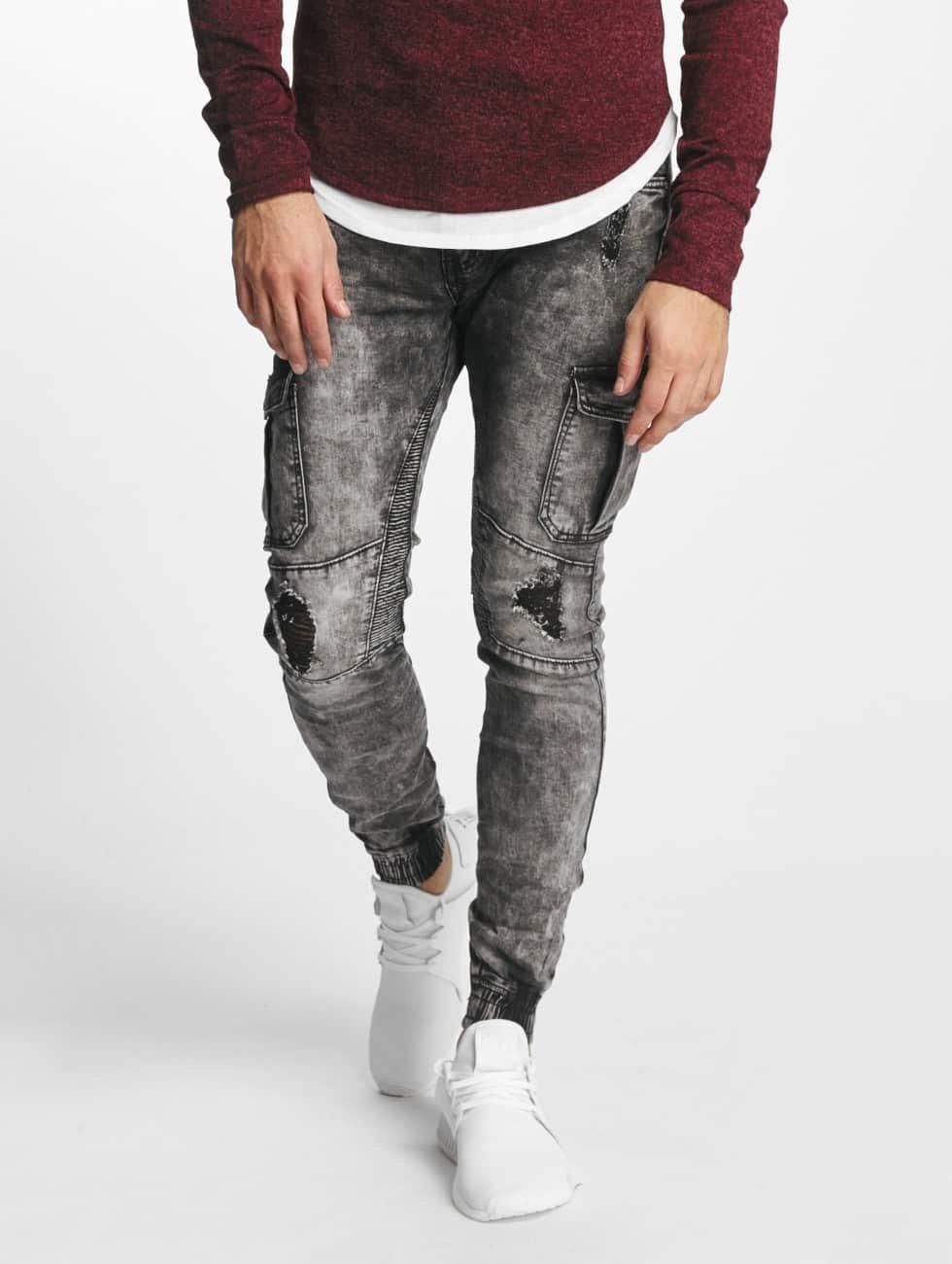 Aarhon Jeans ajustado Nizza negro