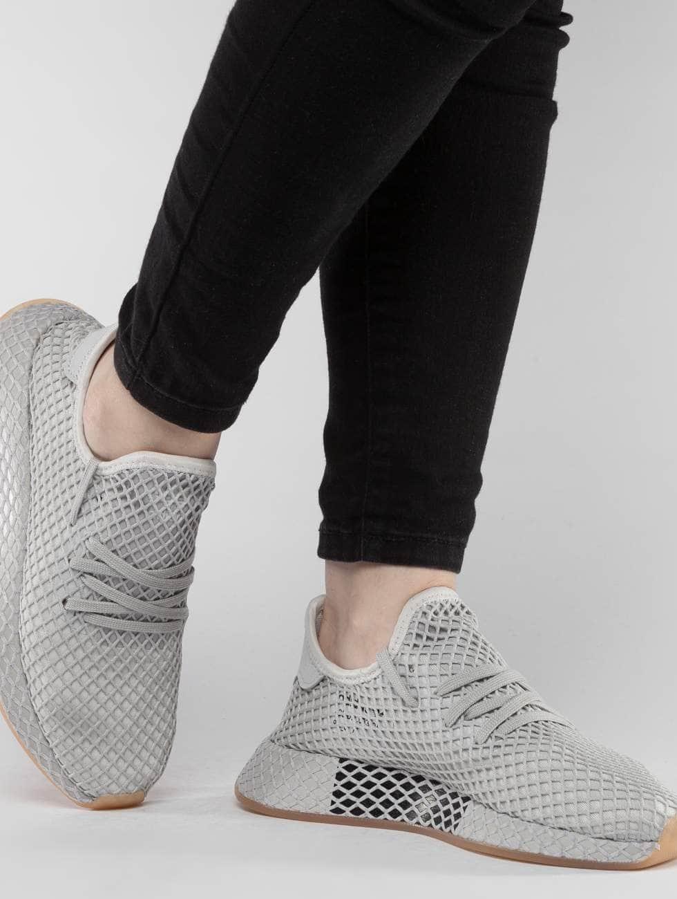 Adidas Originals Sko / Joggesko Deerupt Løper I Grå 409 946 Klaring Rask Levering kLuPBS0cXl