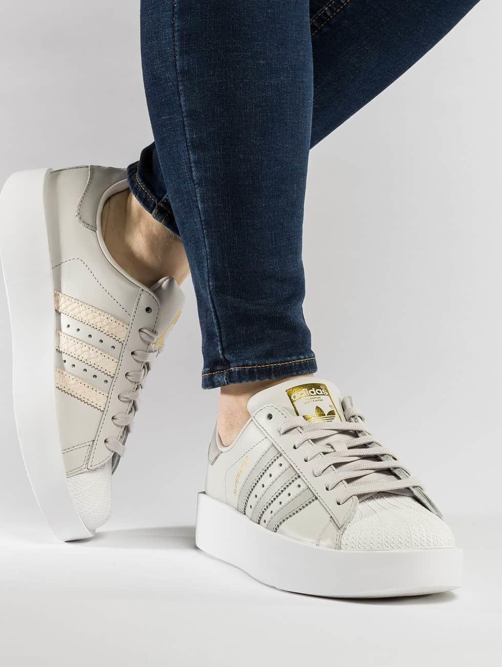 betrouwbaar adidas originals schoen / sneaker Superstar Bold in grijs 437530 100% Origineel Goedkoop Online Footlocker Te Koop Ocdu3S5