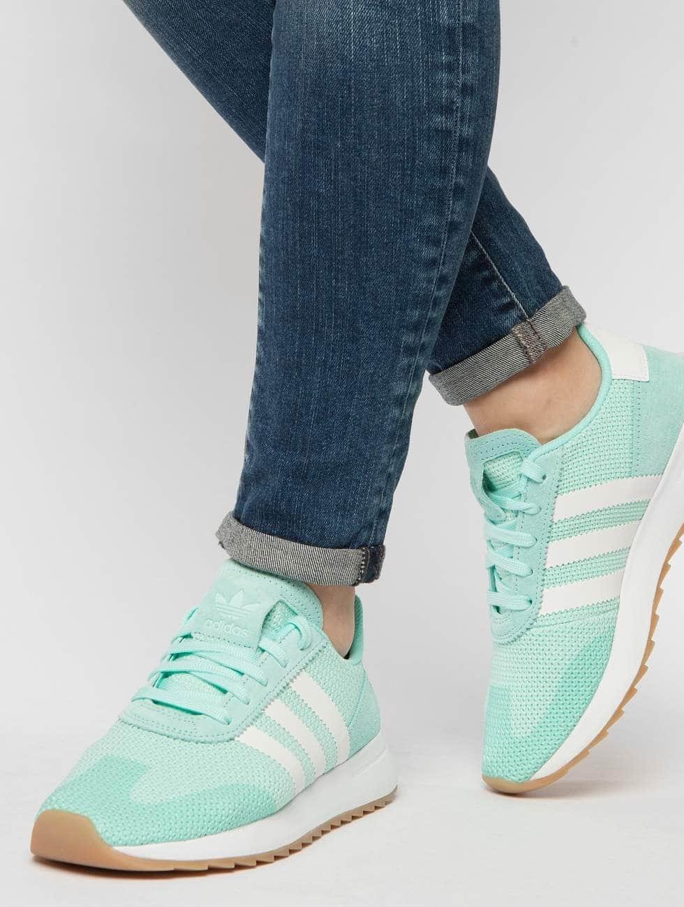 adidas originals Tennarit Flashback Runner turkoosi