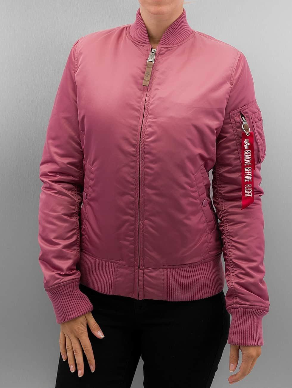 Alpha Industries Bomber jacket Ma 1 VF 59 pink