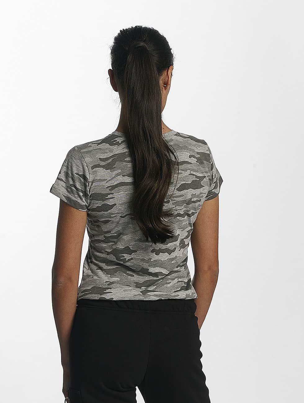 Alpha Industries Camiseta Basic T Wmn gris