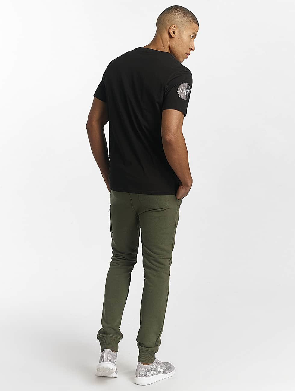 Alpha Industries T-Shirt NASA black
