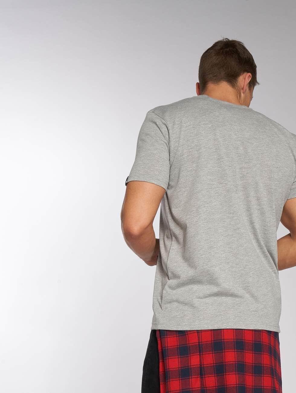 Alpha Industries T-skjorter Basic Small Logo grå