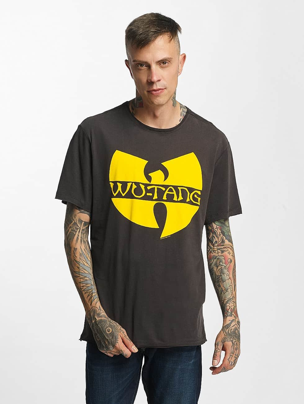Amplified t-shirt Wu Tang Logo grijs