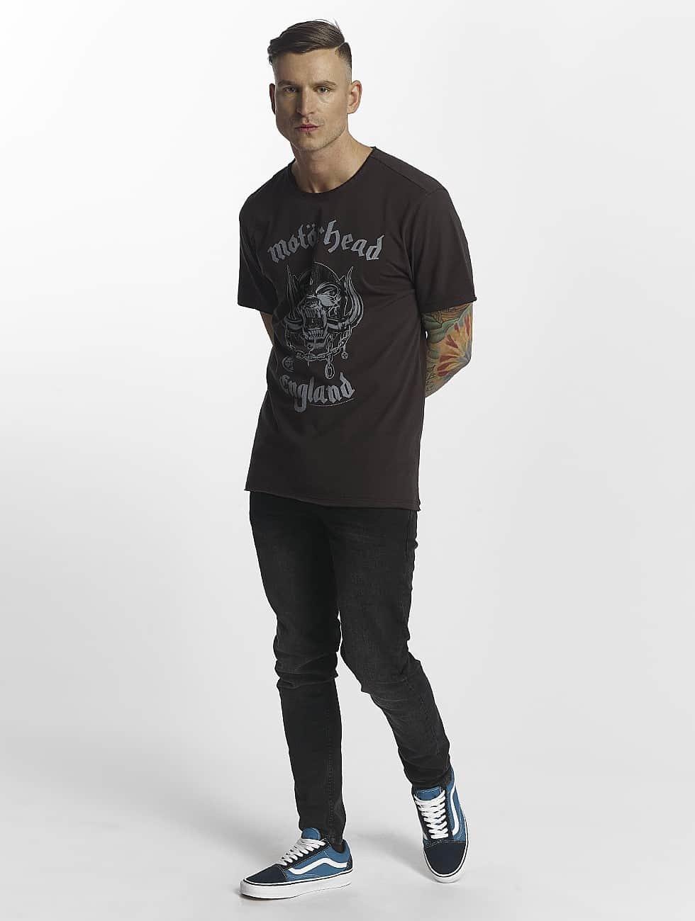 Amplified t-shirt Motorhead grijs
