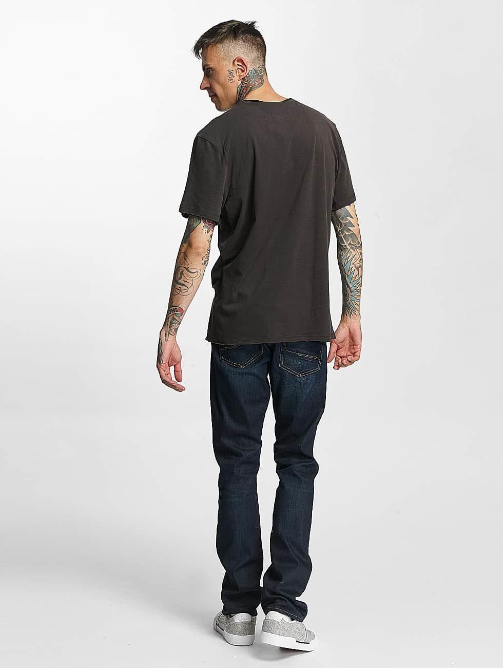 Amplified T-skjorter Wu Tang Logo grå