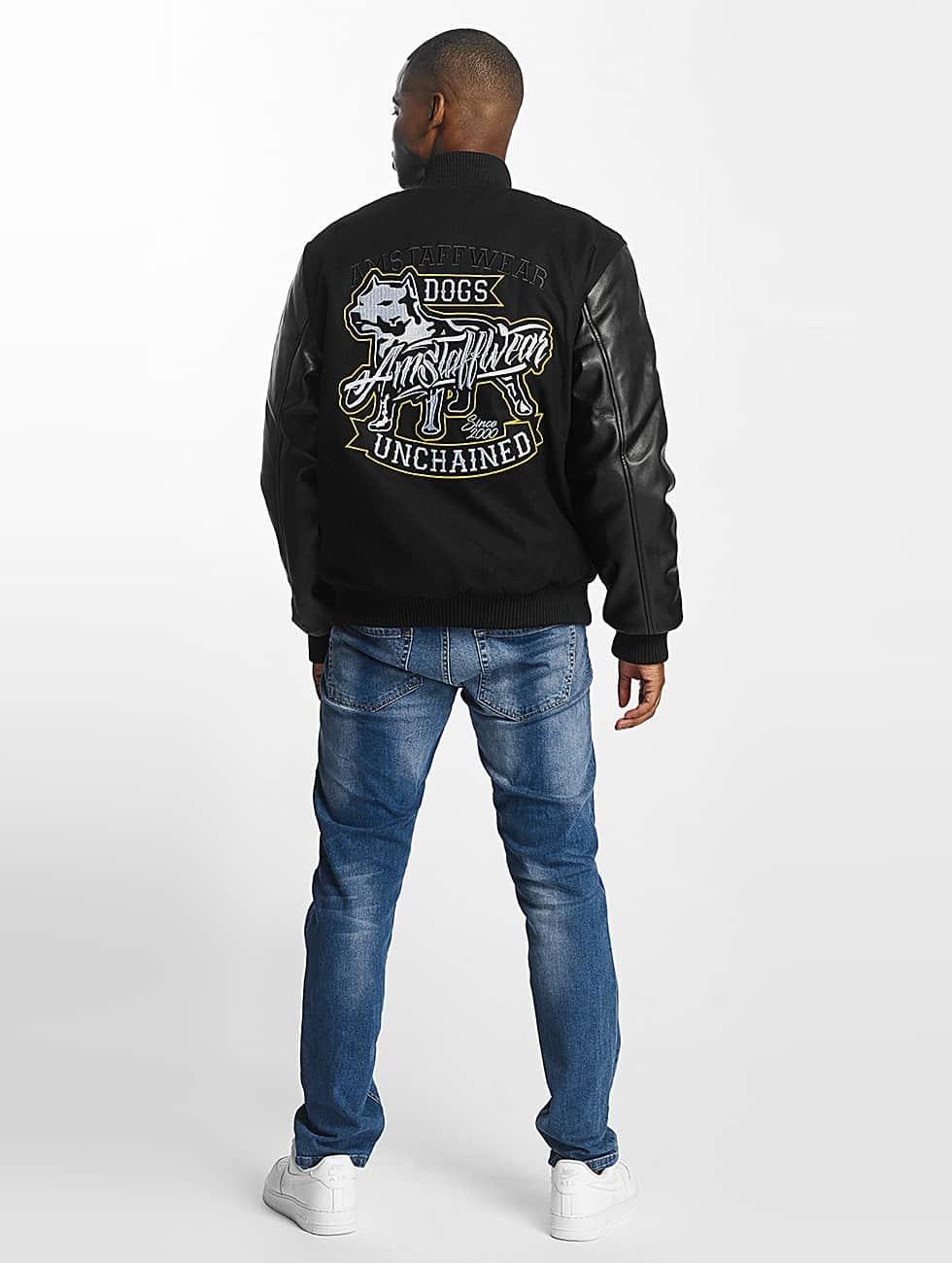 Amstaff Университетская куртка College черный