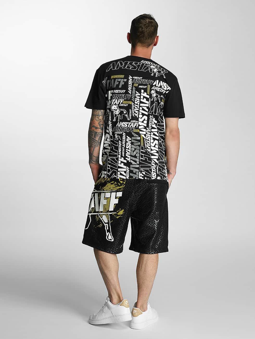 Amstaff T-Shirt Talis noir