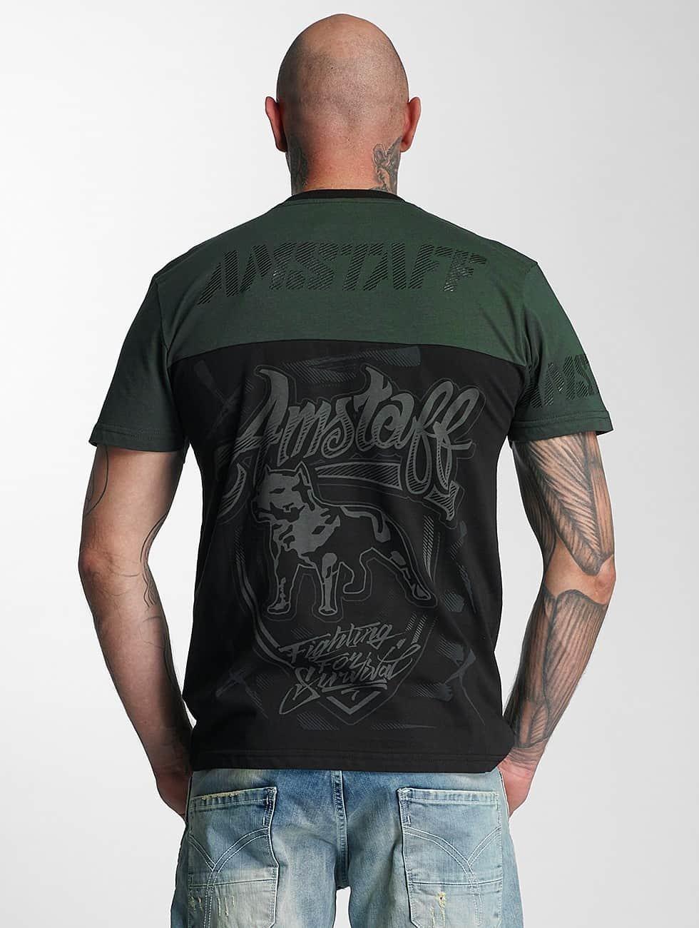 Amstaff T-Shirt Lizard schwarz