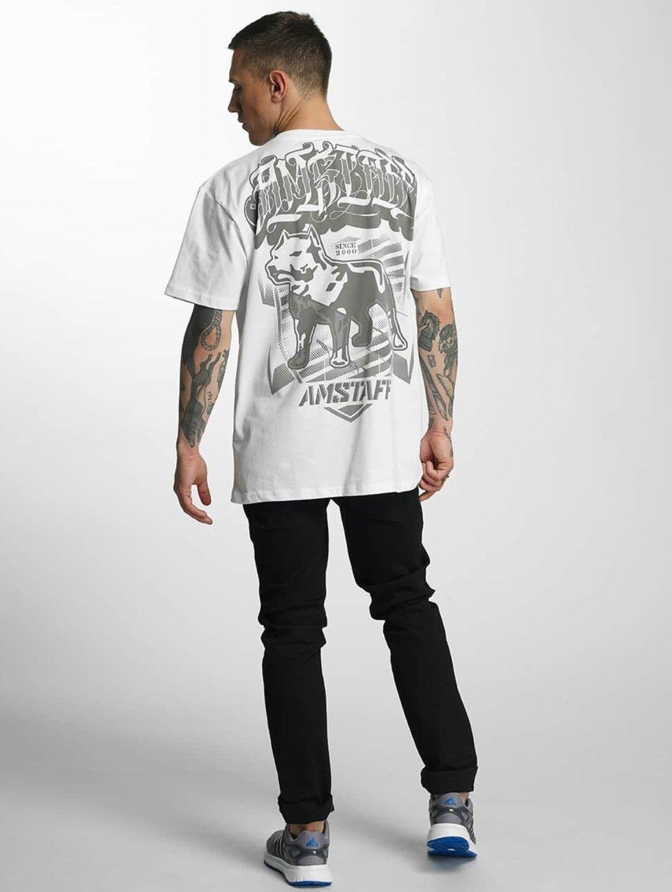Amstaff t-shirt Tylos wit