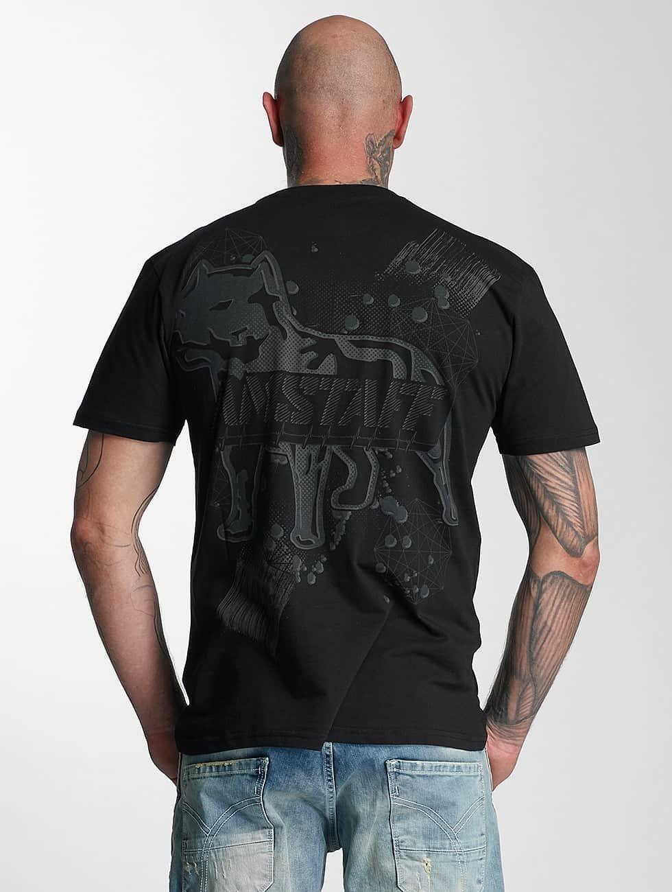 Amstaff t-shirt Tuves zwart
