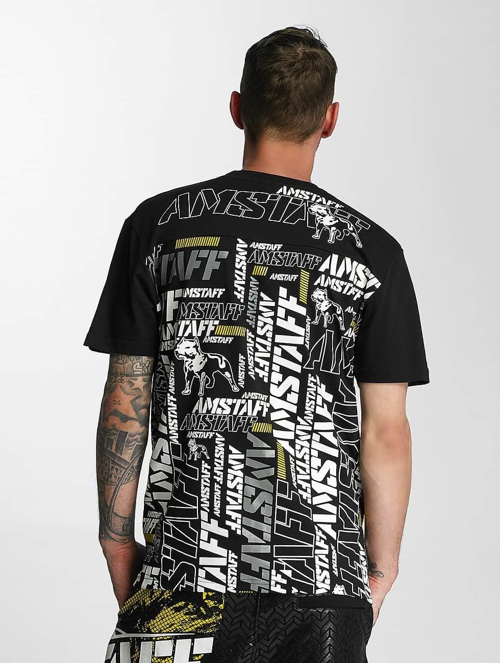 Amstaff t-shirt Talis zwart
