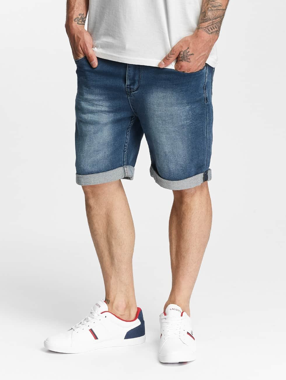Authentic Style Jogg Denim Jeans Shorts Dark
