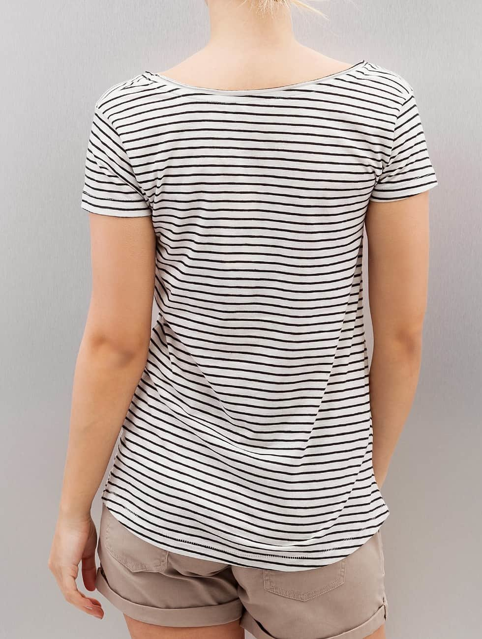 Authentic Style T-Shirt Fresh Made Stripe white