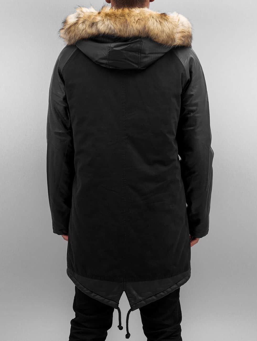 Bangastic Coats PU Sleeves black