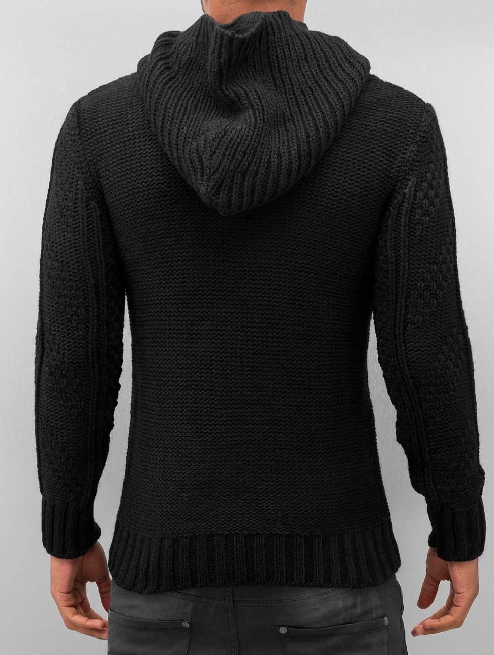 Bangastic Hoody Knitted zwart
