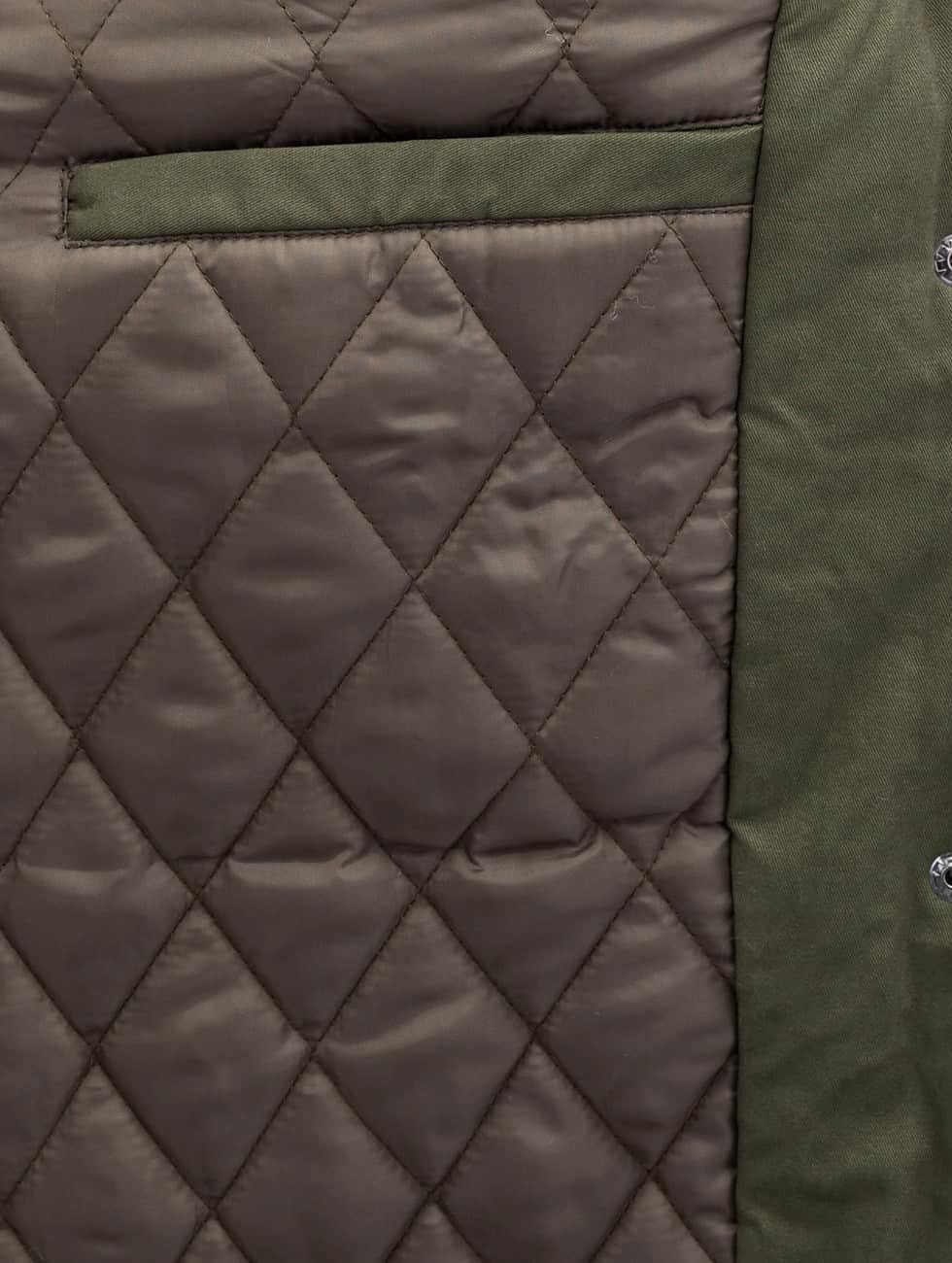 Bangastic Mantel PU Sleeves grün