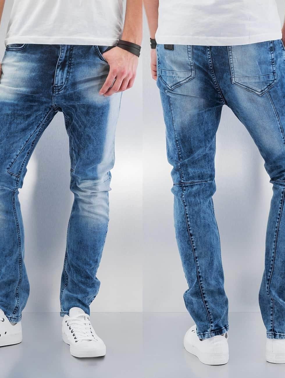 Bangastic Straight fit jeans Haruko blauw