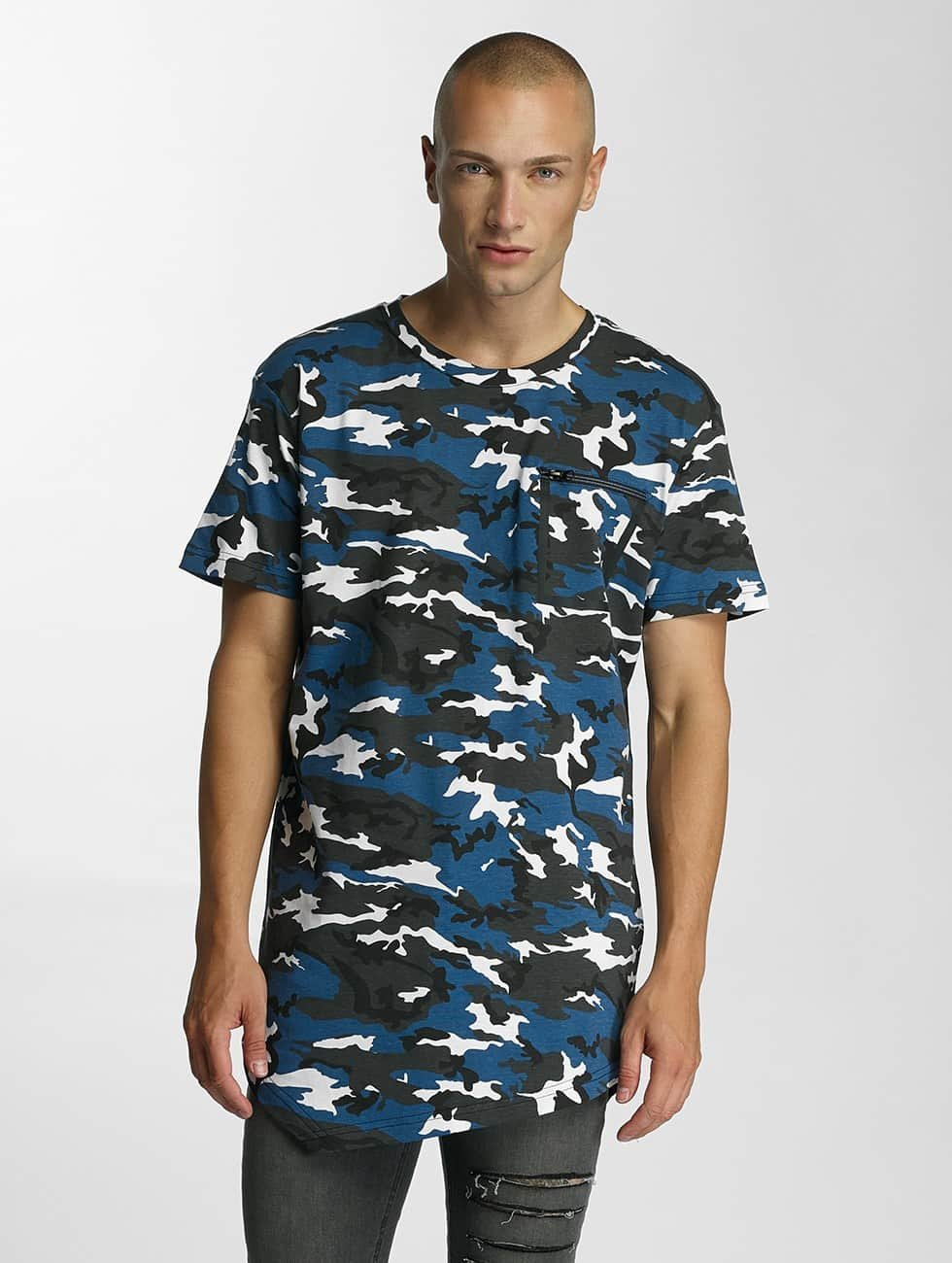 Bangastic t-shirt Camo blauw