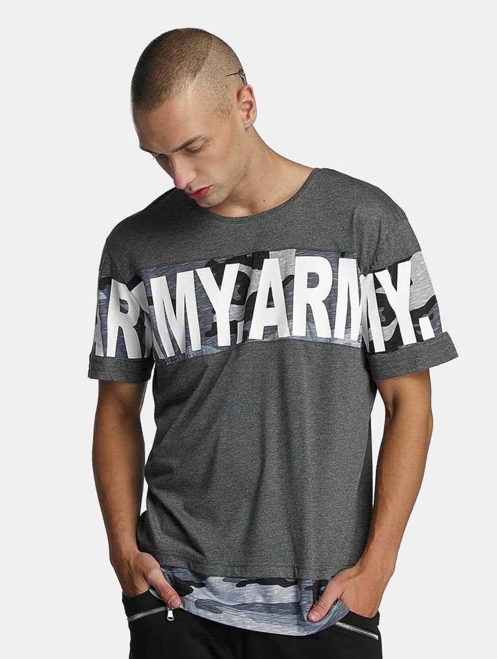 Bangastic T-Shirt Army grau