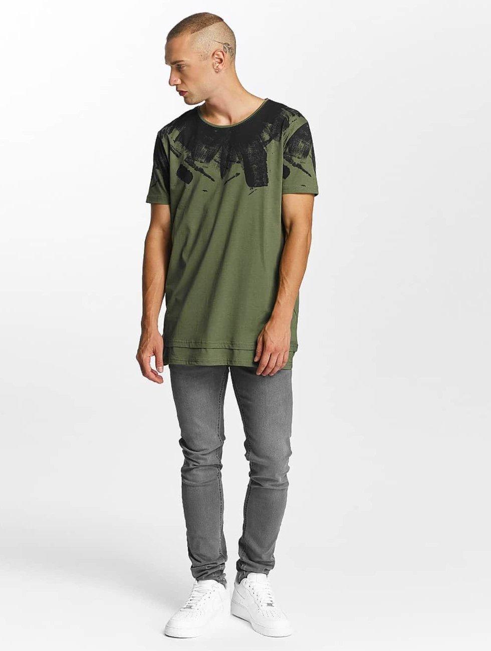 Bangastic T-skjorter Splash oliven