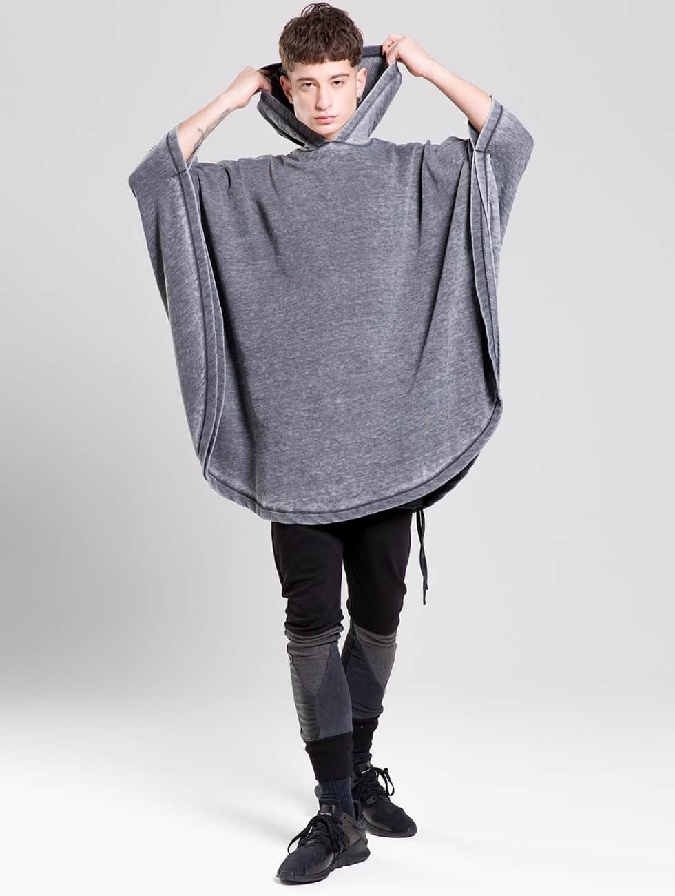 Bangastic Tričká dlhý rukáv Moak šedá