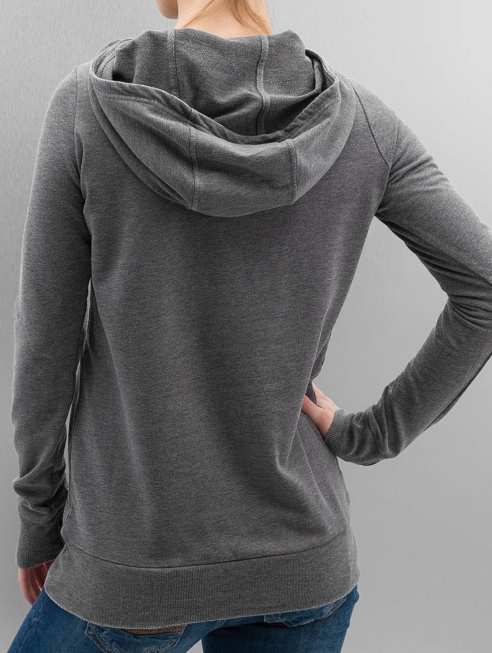Bench Hoodie Corp Print grey