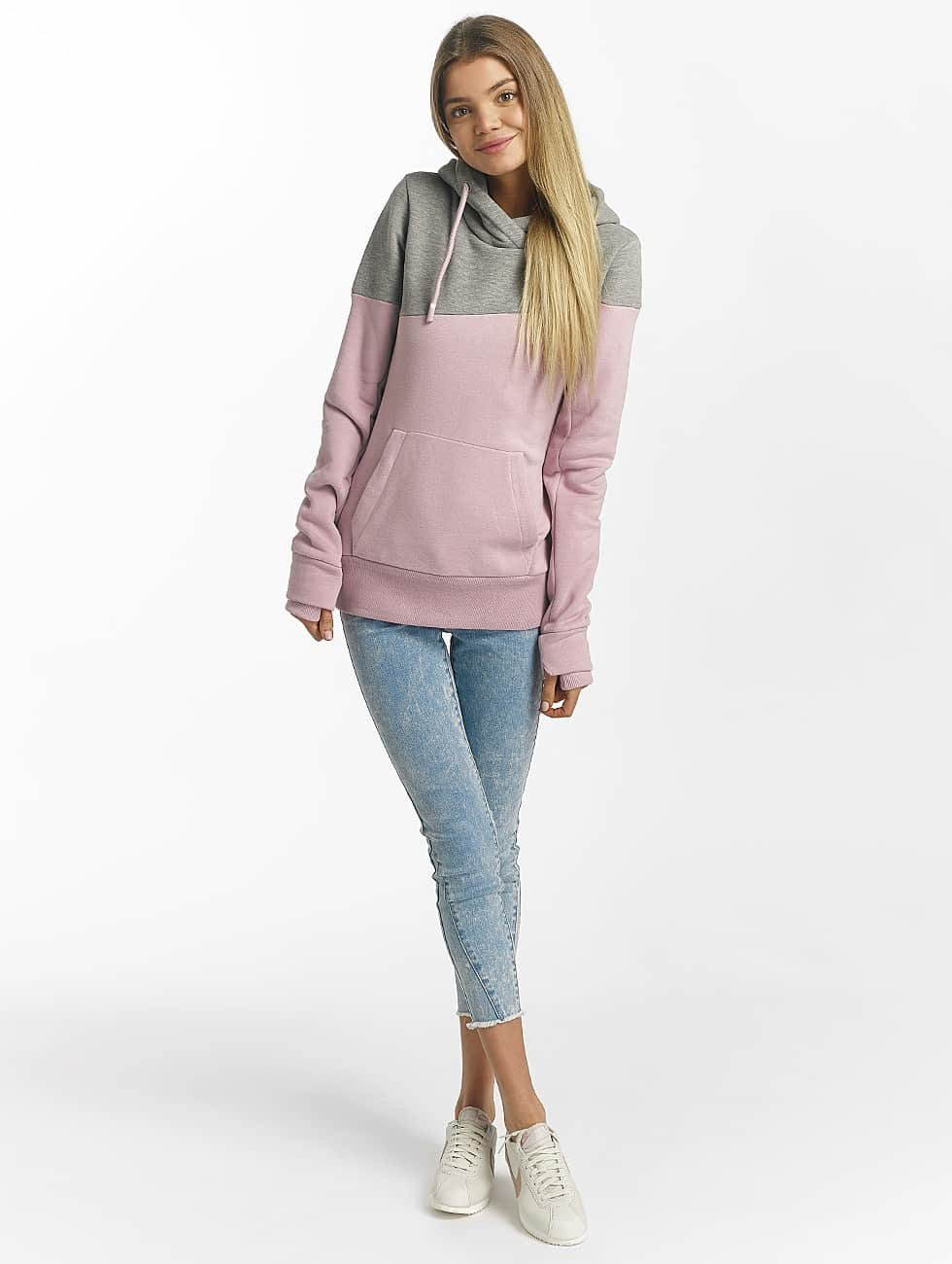 Bench Hoodie Life rosa