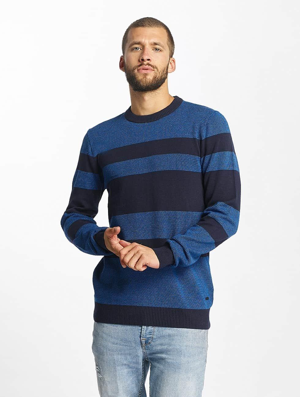 Bench Jersey Structured Stripe azul