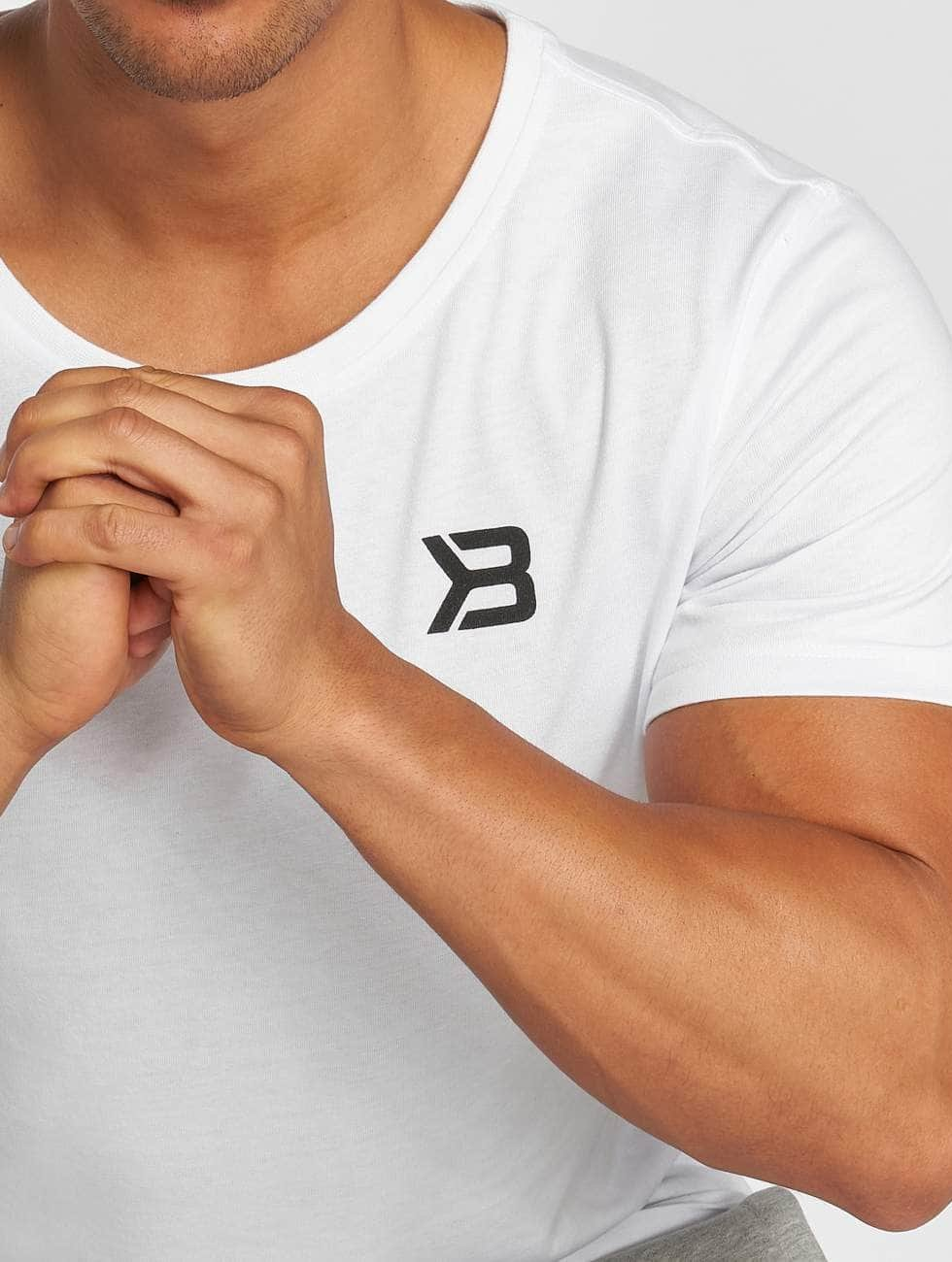 Better Bodies Camiseta Hudson blanco