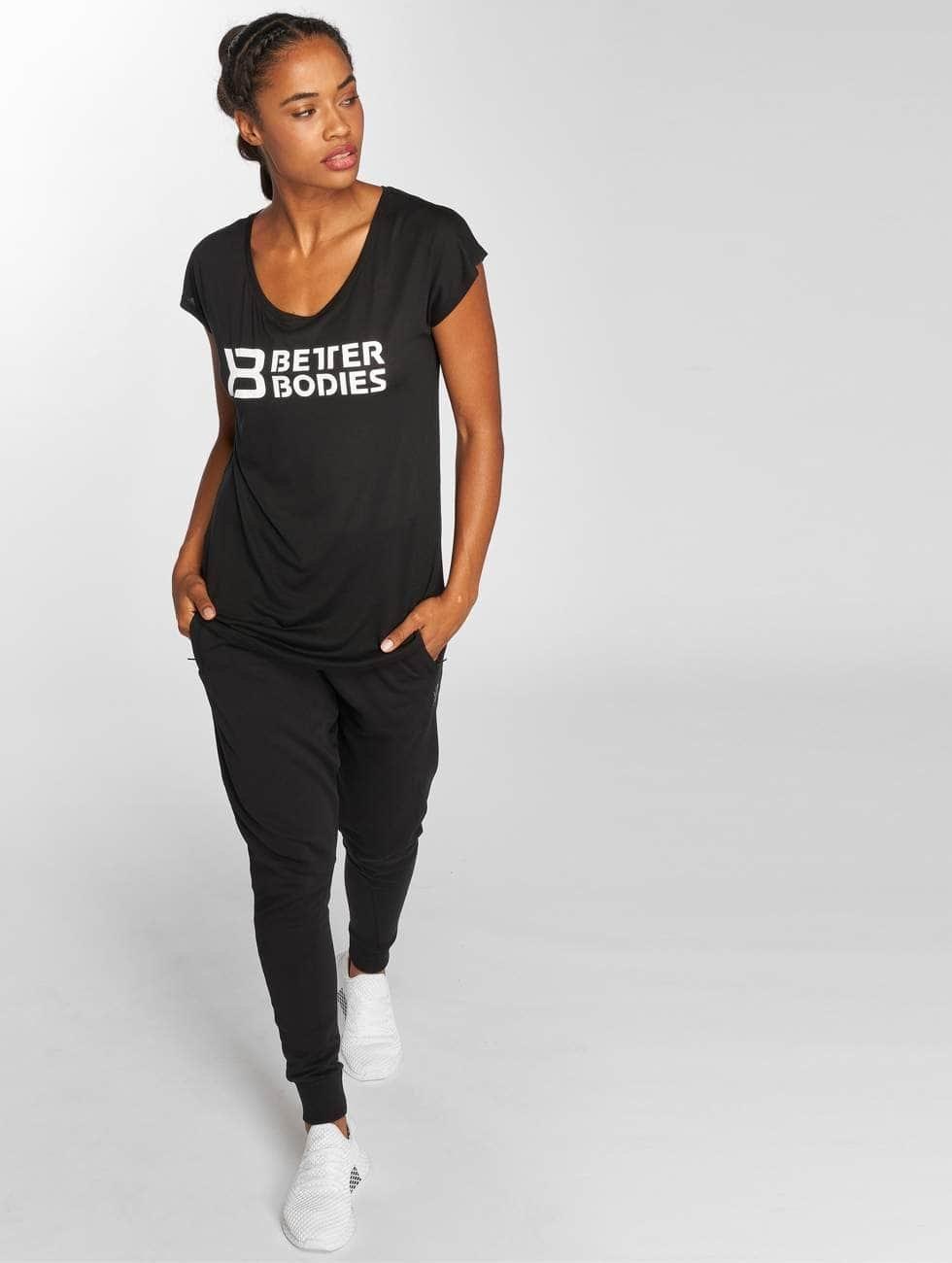 Better Bodies Camiseta Gracie negro