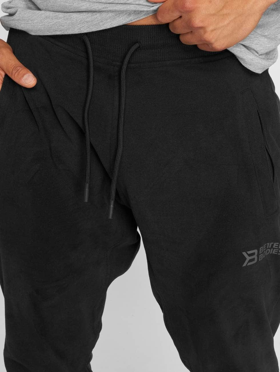 Better Bodies joggingbroek Harlem zwart