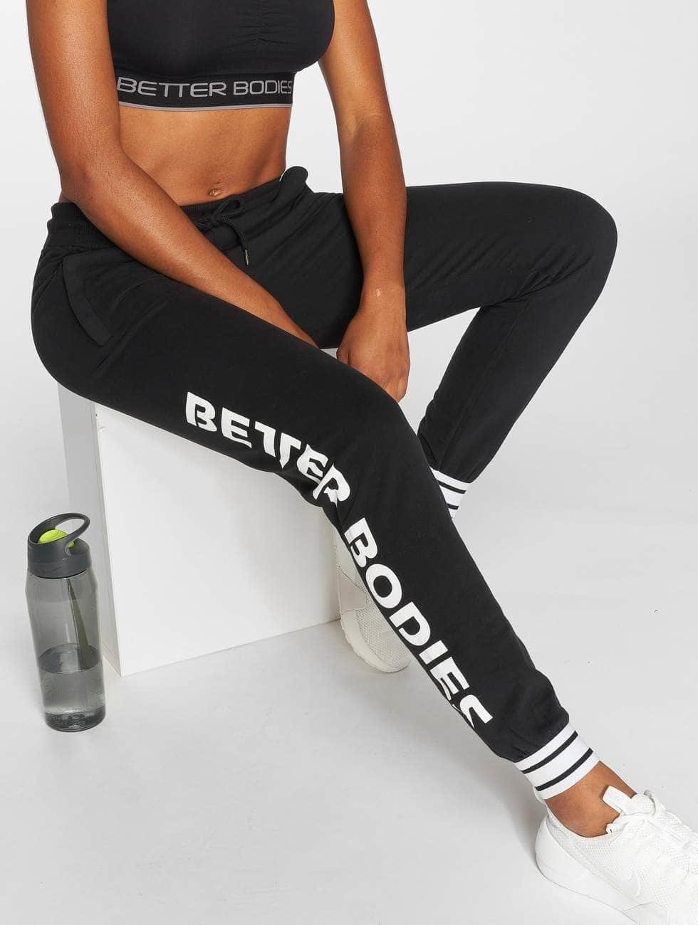 Better Bodies joggingbroek Madison zwart