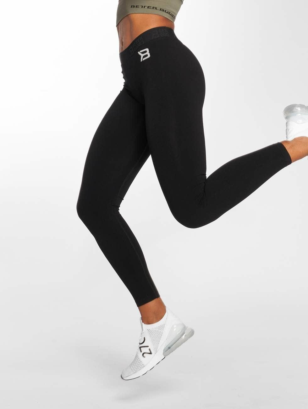 Better Bodies Leggings/Treggings Astoria Curve czarny