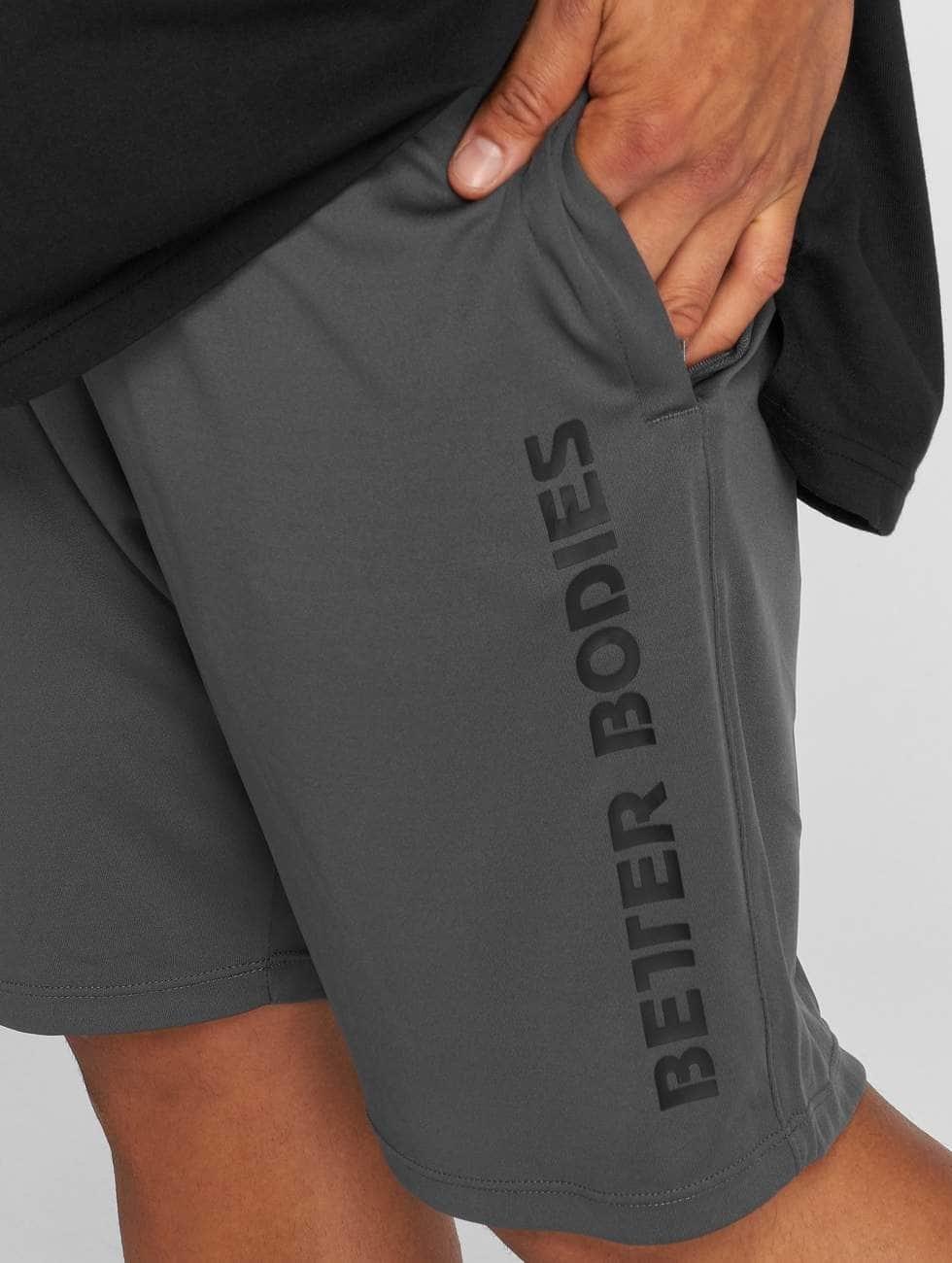 Better Bodies Shorts Loose Function grau