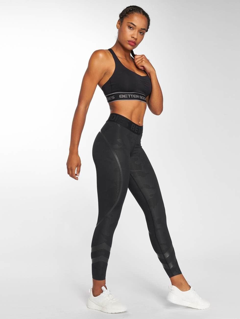 Better Bodies Sport BH Athlete Short zwart
