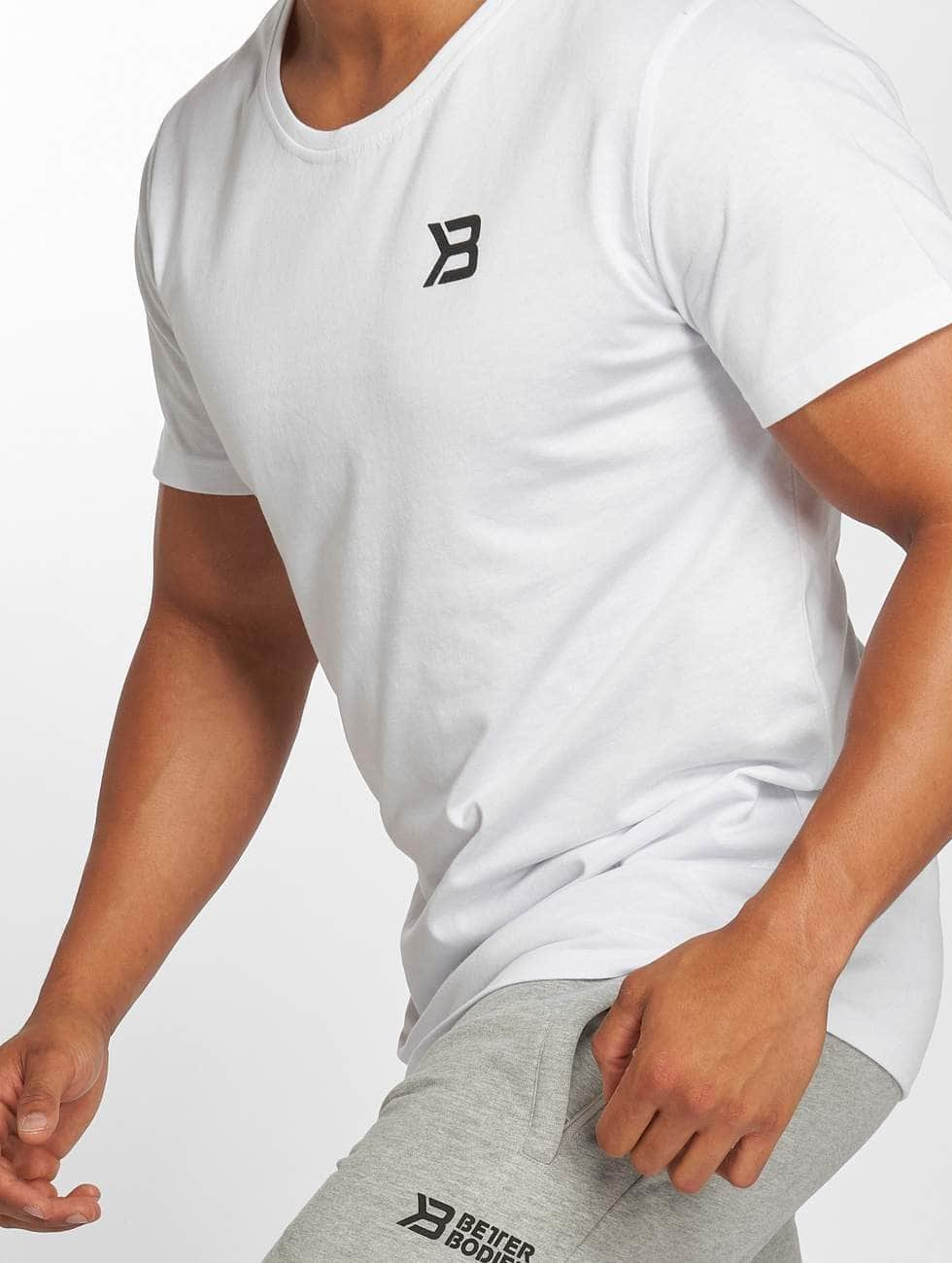 Better Bodies T-Shirt Hudson blanc