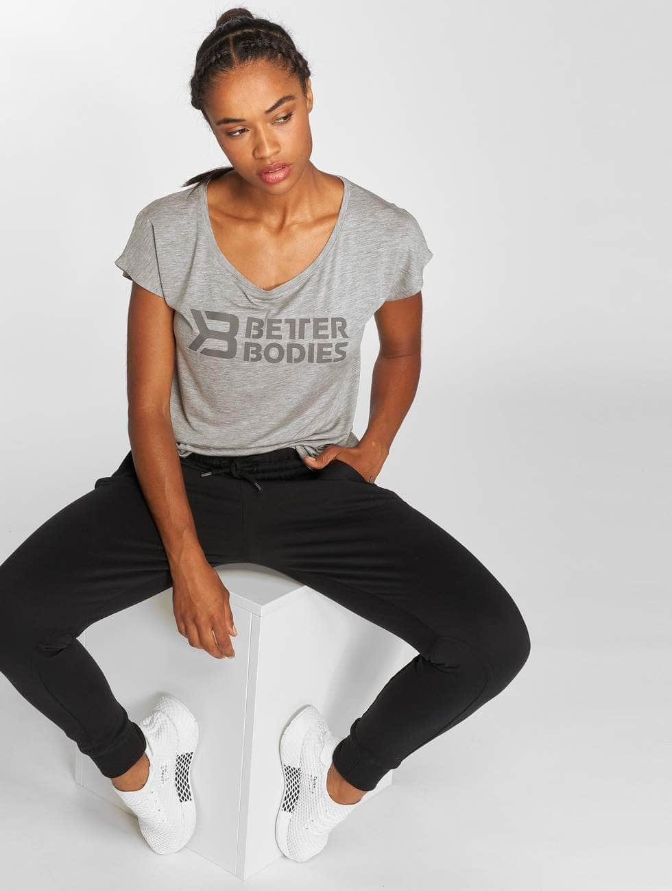 Better Bodies T-Shirt Gracie grau