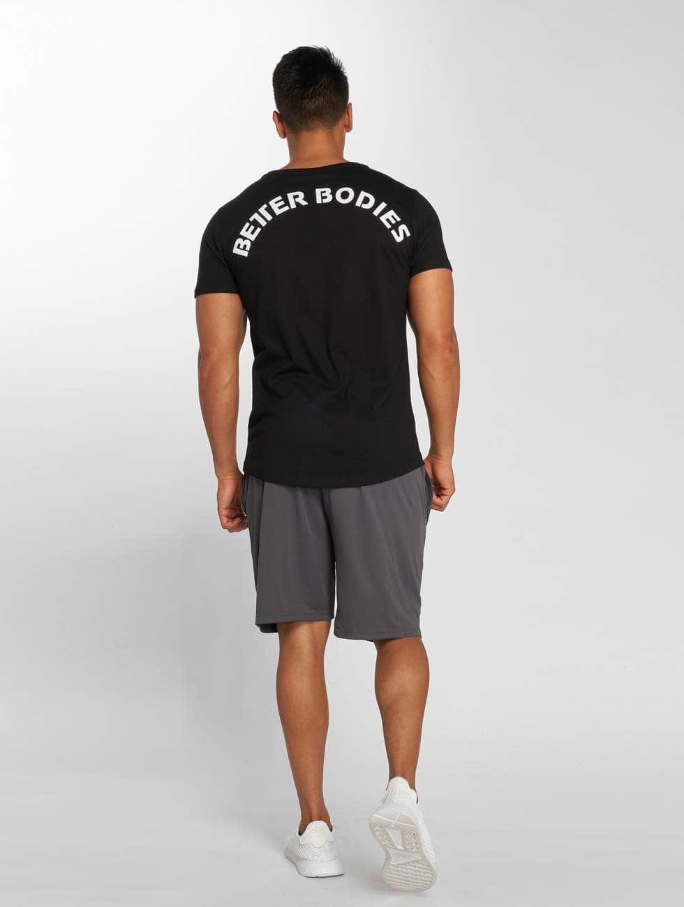 Better Bodies T-Shirt Hudson schwarz