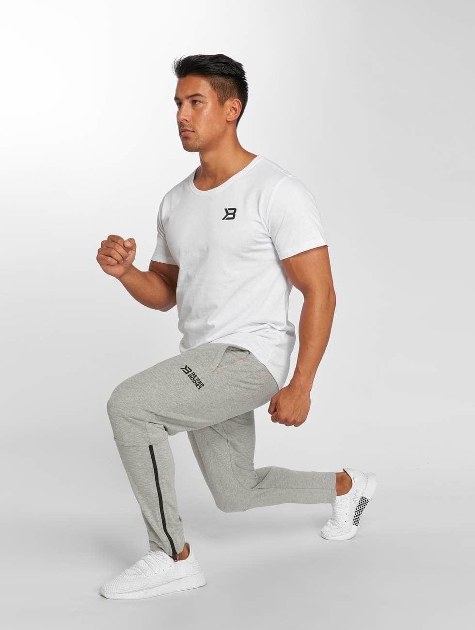 Better Bodies T-skjorter Hudson hvit