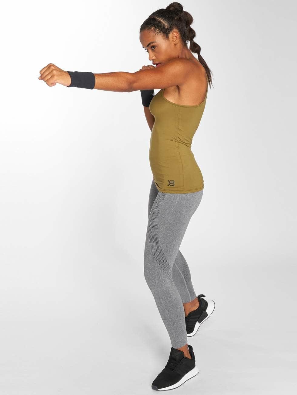 Better Bodies top Performance khaki