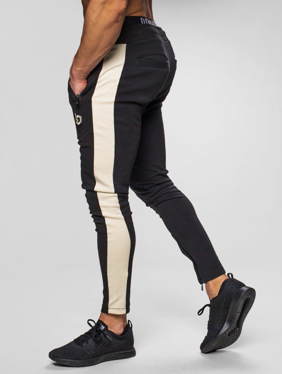 Beyond Limits Jogging kalhoty Foundation čern