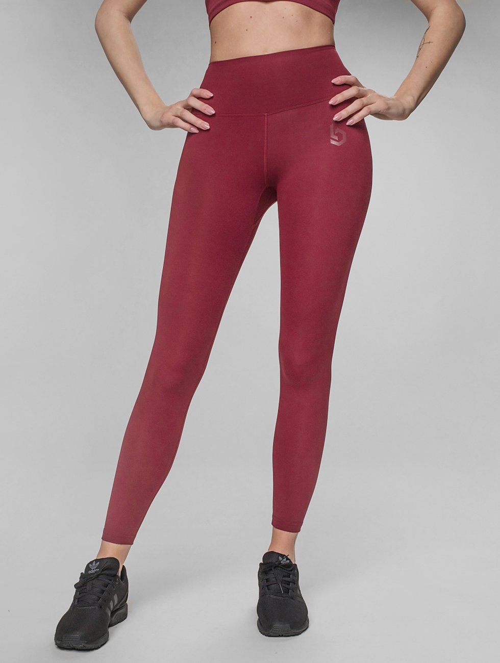 Beyond Limits Leggings Pure Highwaist röd