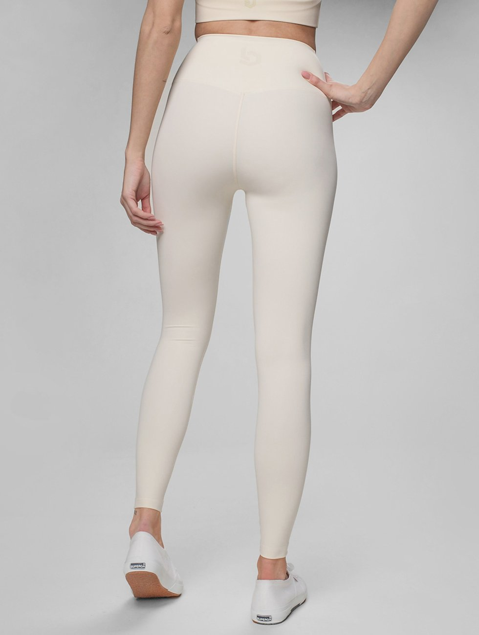 Beyond Limits Leggings/Treggings Pure Highwaist bezowy