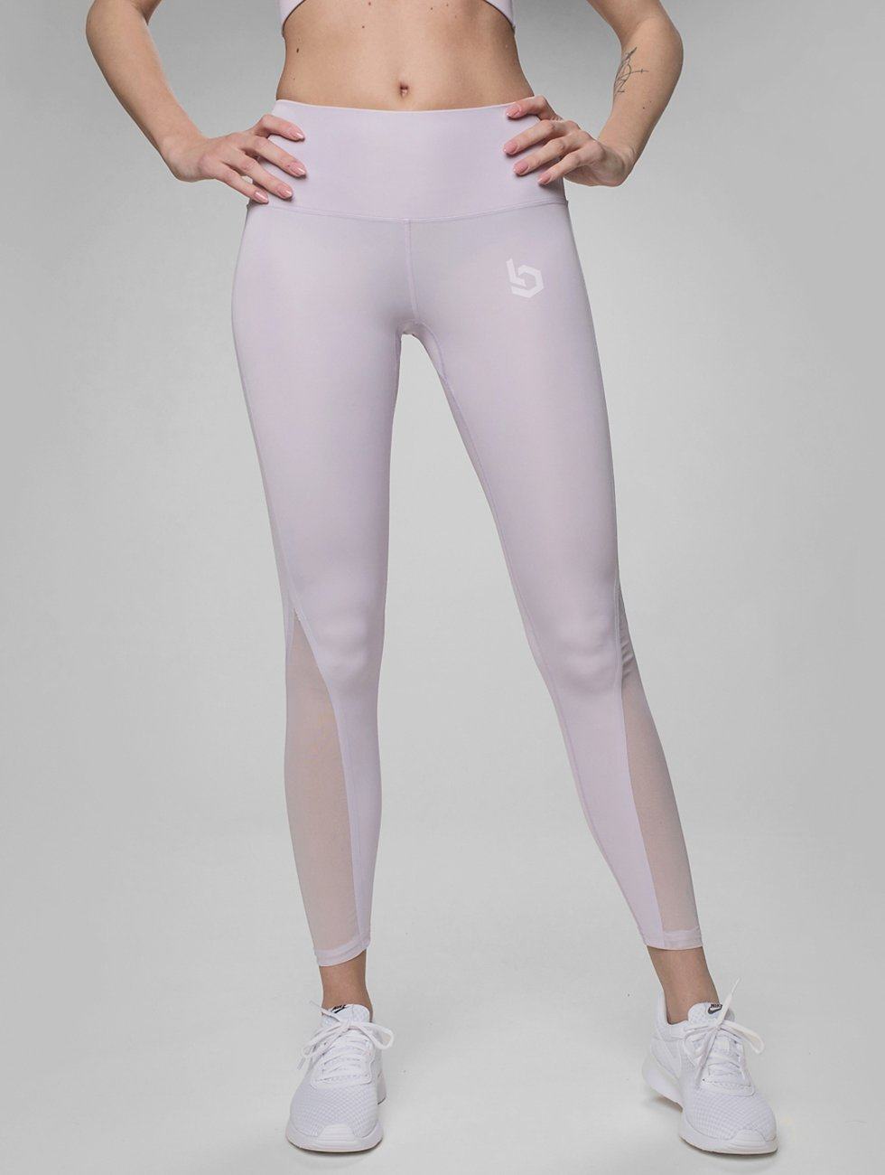 Beyond Limits Leggings/Treggings Highlight fioletowy