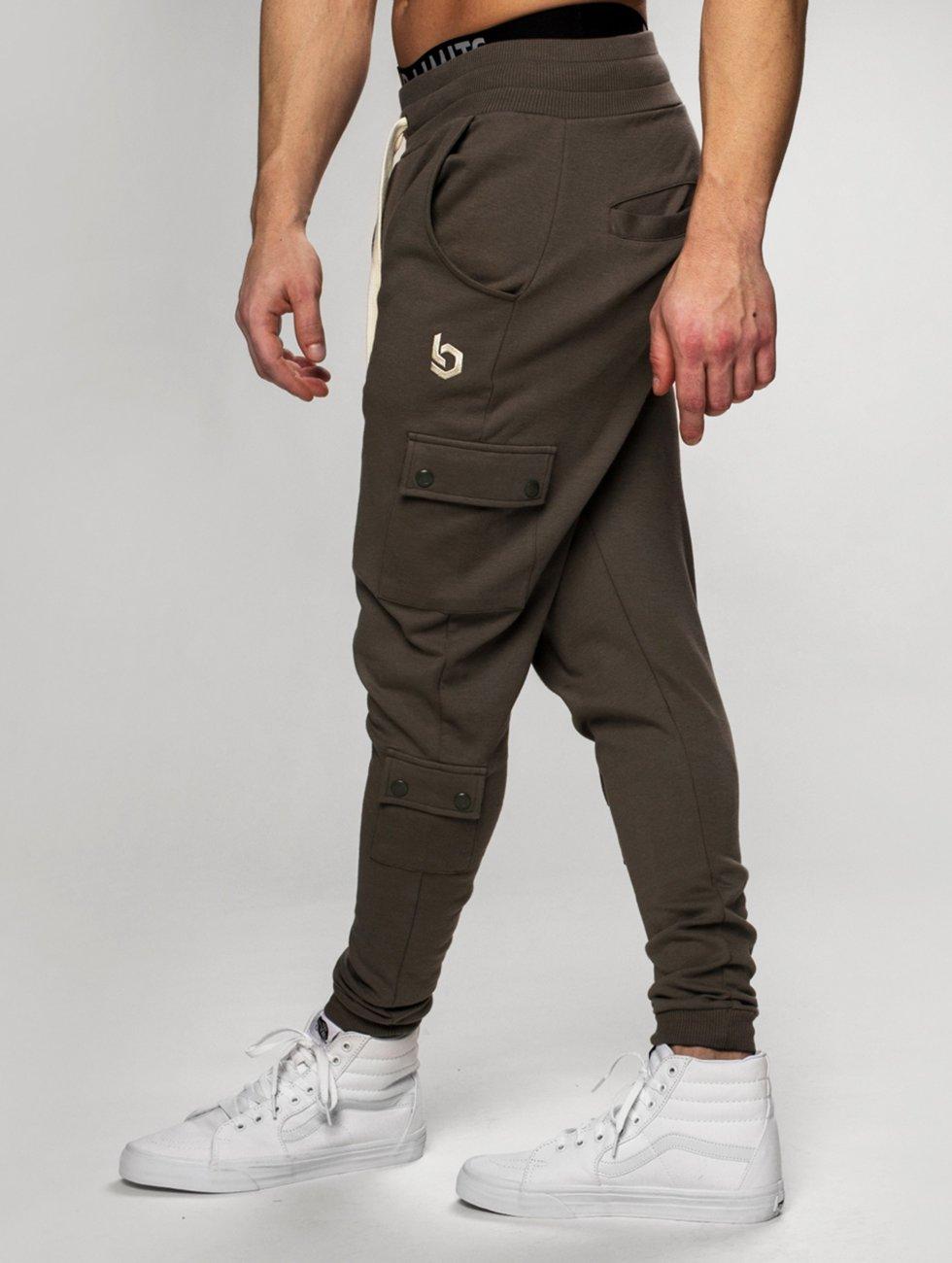 Beyond Limits Spodnie do joggingu Cargo khaki
