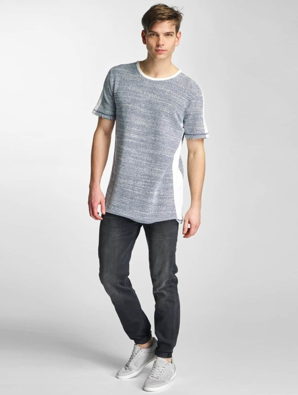 Black Kaviar T-Shirt Selby blue