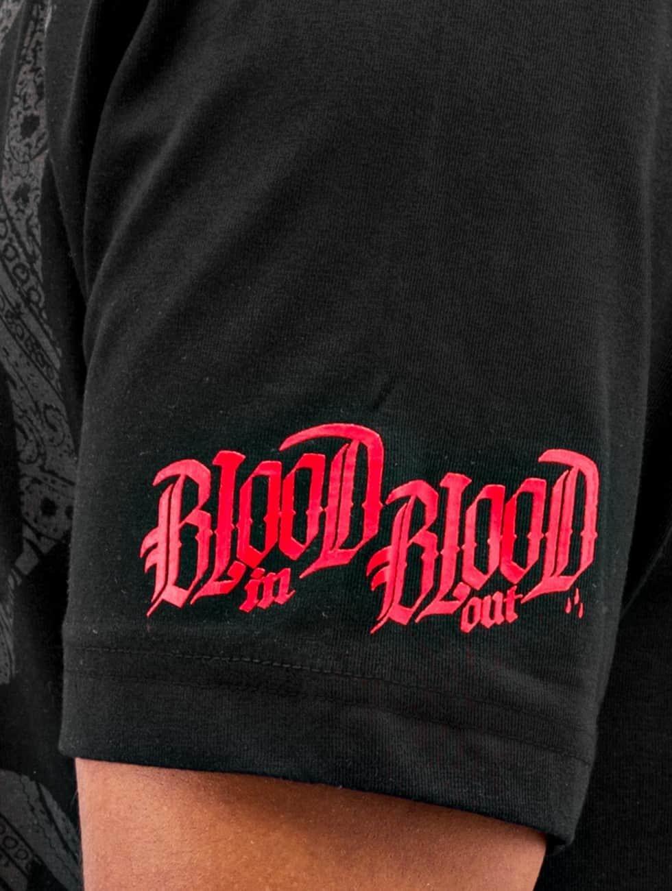 Blood In Blood Out Футболка Logo черный